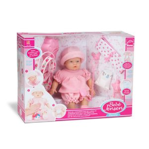 Boneca Bebe Jensen Dia de Passeio Roma - 5430
