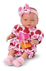 Boneca Babies Primeiras Comidinhas Roma 5068