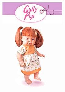 Boneca Gully Ruiva Pop Nova Toys