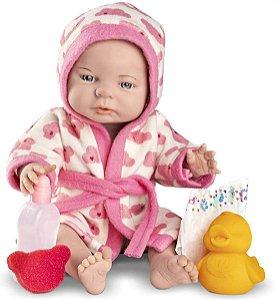Boneca Babies Roma Pirmeiro Sonho e Banho