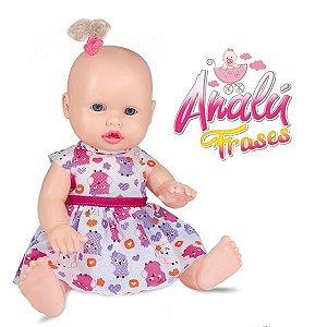 Boneca Analu Frases