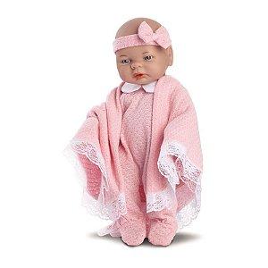 Boneca Bebê - Roma Babies - Saída da Maternidade - Rosa - Roma Jensen