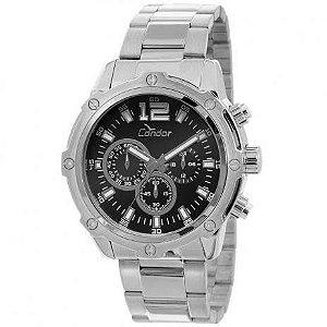 Relógio Condor Masculino Prata – COVD54AD/3P