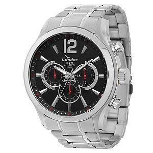 Relógio Condor Masculino Prata KY20581/1P