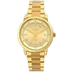 Relógio Euro Feminino Dourado EU2036YLF/4D