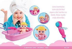 Boneca Nenequinha Chuveirinho