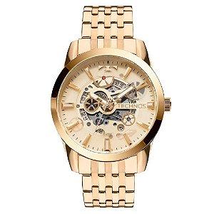 Relógio Technos Automático Classic Esqueleto 8205NQ/4X