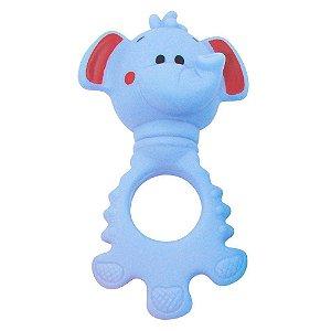 Chocalho e Mordedor - Elefante Azul - Pais e Filhos
