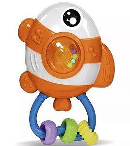 Chocalho amigos do mar peixe - zoop toys- Zooptoys
