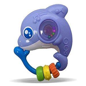 Chocalho Amigos Do Mar Golfinho Zoop Toys