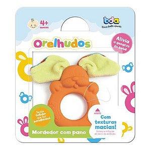 Mordedor com Tecido - Orelhudos Laranja - Toyster