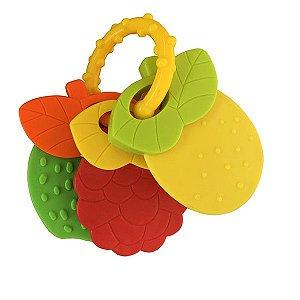Chocalho Baby Frutas Paki Toys