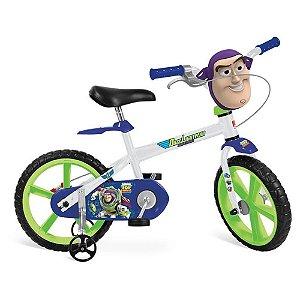 Bicicleta Aro 14 - Disney - Toy Story - Buzz Lightyear - Bandeirante