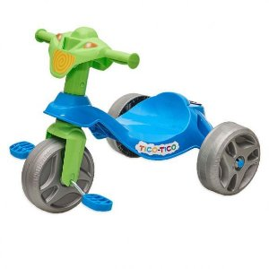Triciclo Infantil Bandeirante Tico Tico - Azul