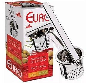 Espremedor E Amassador De Batatas Aço Inox - Euro Home
