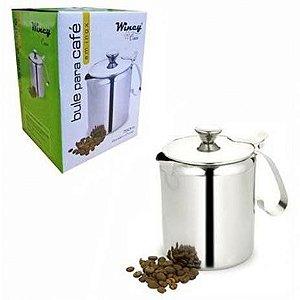 Bule de Inox para Café 750ml  Wincy
