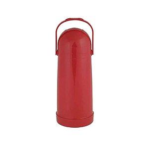 Garrafa Térmica Nobile 1litro Pressão Mor - Vermelho