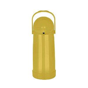 Garrafa Térmica Nobile 1litro Pressão Mor - Mostarda