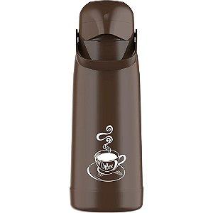 Garrafa térmica Magic pump 1.8L café (pressão) Termolar