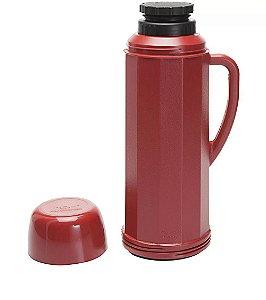 Garrafa Térmica Invicta Eureka Vermelho 1l