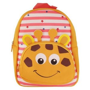 Mochila Escolar Infantil Listrada Clio Pets Girafa - Clio Style