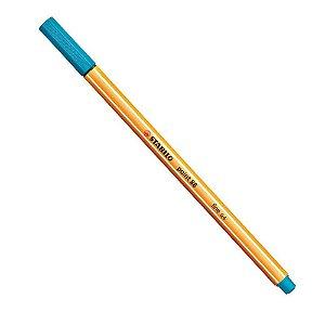 Caneta Stabilo Point 88 Azul Neon
