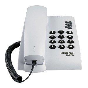 Telefone Com Fio Intelbras Pleno - Cinza Artico
