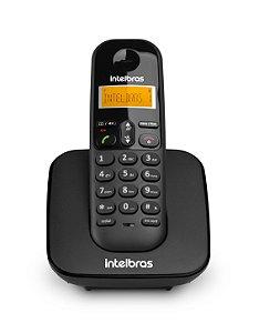 Telefone Sem Fio Digital Intelbras - Preto
