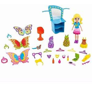 Polly Modas De Mariposa Fantasias De Borboleta - Mattel