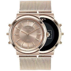 Relógio Technos Feminino Curvas 360° Rosé 9T33ac/4j