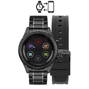 Smartwatch Technos Duo Preto – P01AB/4P