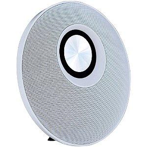 Caixa de Som Bluetooth Speaker Flip Branco/Cinza