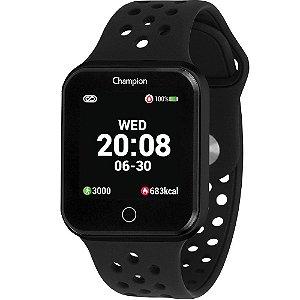Relógio Smartwatch Champion Unissex Ch50006p preto