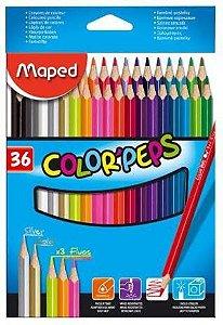 Lápis de Cor 36 Cores Color Peps - Maped
