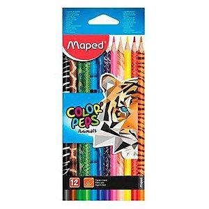 Lápis de Cor Maped Color'Peps Animals