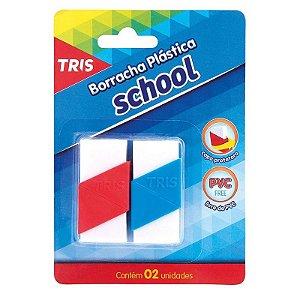 Borracha Escolar - School - Branca - Tris