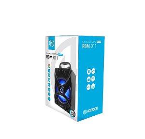 Caixa de Som Bluetooth 30W SD USB FM Aux RBM-011 Hoopson