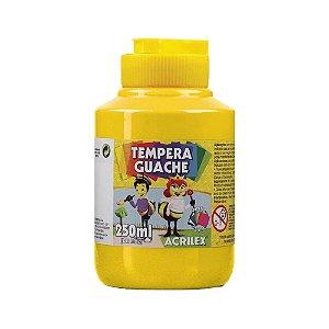 Tinta Tempera Guache 250mL Amarelo Ouro Acrilex