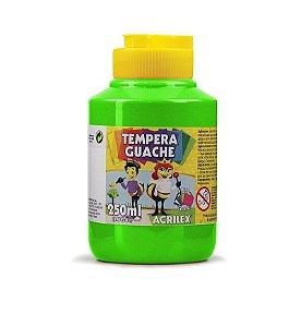 Tinta Guache Escolar Verde 250ml Acrilex