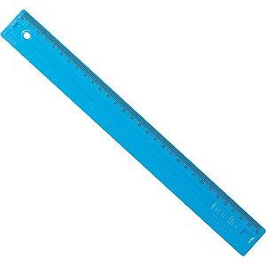 Régua em poliestireno 30 cm Azul - Dello