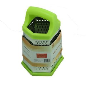 Ralador em Inox 6 Faces - Verde - Vetro