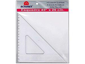 Esquadro poliestireno 45X26cm Acrimet