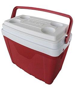 Caixa Térmica Antares 25 Litros Vermelha