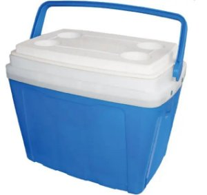 Caixa Térmica 25Litros Azul