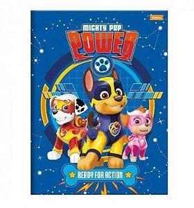 Caderno Brochura Patrulha Canina Power Azul 96 Folhas - Foroni