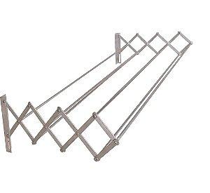 Varal Sanfonado em Alumínio 100 cm