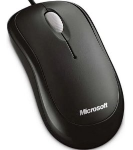 Mouse Microsoft Basic Optical USB Preto