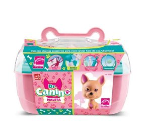 Maleta Dr Canino Pet Rosa - Roma Brinquedos