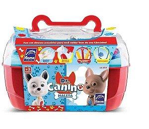 Maleta Dr Canino Pet Vermelha - Roma Brinquedos