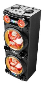 Caixa Torre Double Pulse 1600w Bluetooth SP360 Multilaser